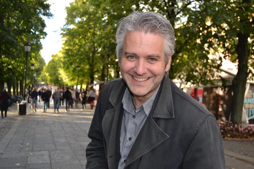 Dag H. Nestegard på Oslo bokfestival 2012. Foto: Hilde Fougner.